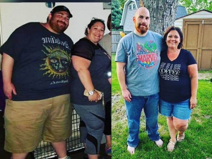 Ethan Becky 3 e1625402565963 - Тучные супруги избавились от огромного веса, и это обнадёжило многих толстяков