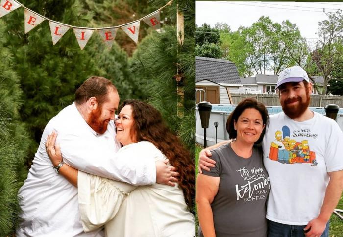 Ethan Becky 4 e1625402664909 - Тучные супруги избавились от огромного веса, и это обнадёжило многих толстяков
