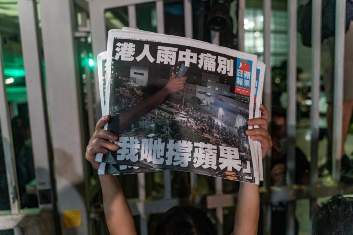 Более 20 стран требуют, чтобы Пекин прекратил подавлять свободу прессы вГонконге