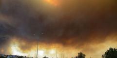 От лесных пожаров в Турции пострадали более 180 человек, погибли трое (Видео)