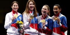 Российские рапиристки — золотые призёры Олимпиады в Токио