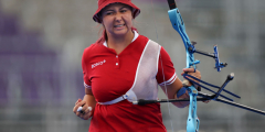 Российская лучница Елена Осипова завоевала серебряную медаль на Олимпиаде в Токио