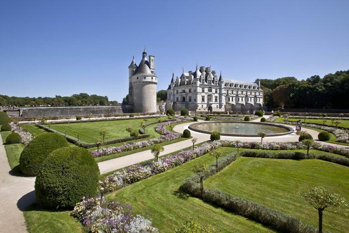 «Дамский замок»: замок Шенонсо
