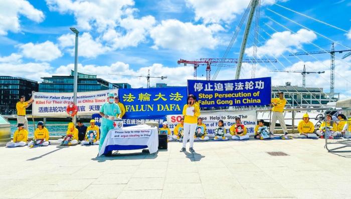 IMG 3861 1200x683 1 e1626606871138 - Ирландские законодатели: Репрессии коммунистического Китая против Фалуньгун должны прекратиться