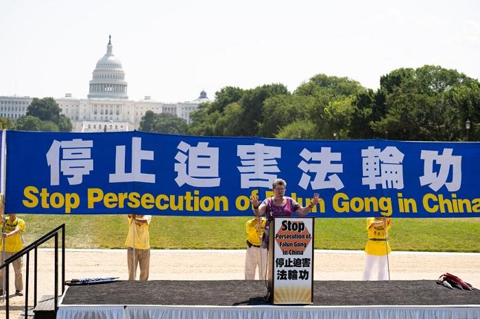 LDB03274 1 1200x800 1 - Фотогалерея: Марш последователей Фалуньгун в Вашингтоне призывает к прекращению 22-летнего преследования в Китае