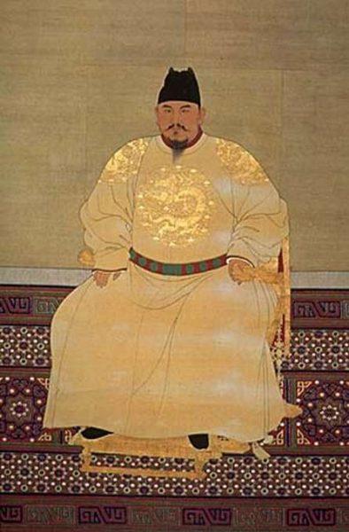 Song Taizu 394x600 1 - Жёлтый цвет в китайской культуре имеет особое значение