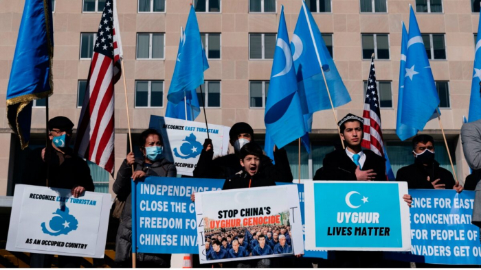 Война в социальных сетях Китая против уйгуров