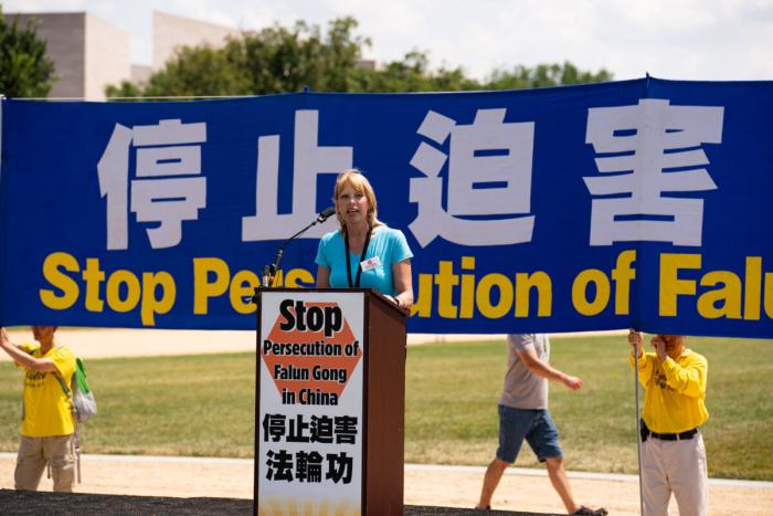 22 года репрессий: группа последователей Фалуньгун требует положить конец репрессиям в Китае