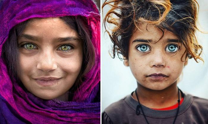 Стамбульский фотограф снимает «Глаза Стамбула». Смотрите сами…