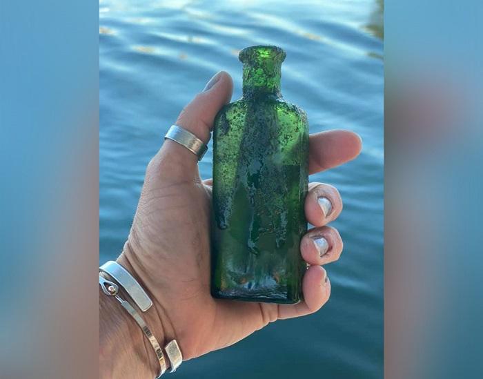 Послание из бутылки 100-летней давности