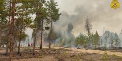 Пожары в Якутии тушат искусственными дождями