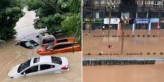 Экстремальные погодные условия во многих провинциях Китая. В Пекине отменены рейсы и закрыты школы