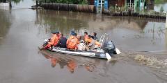 В Забайкалье идёт эвакуация людей после ливней