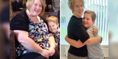 Мама весила 127 килограмм и похудела, чтобы дети смогли её обнять