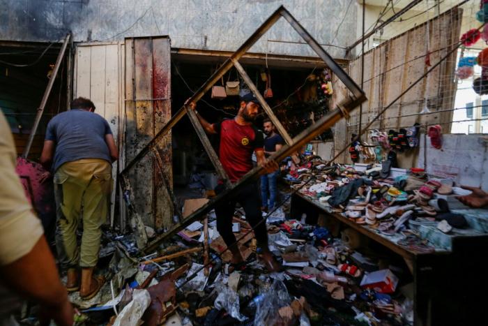 ирак, безопасность, взрыв