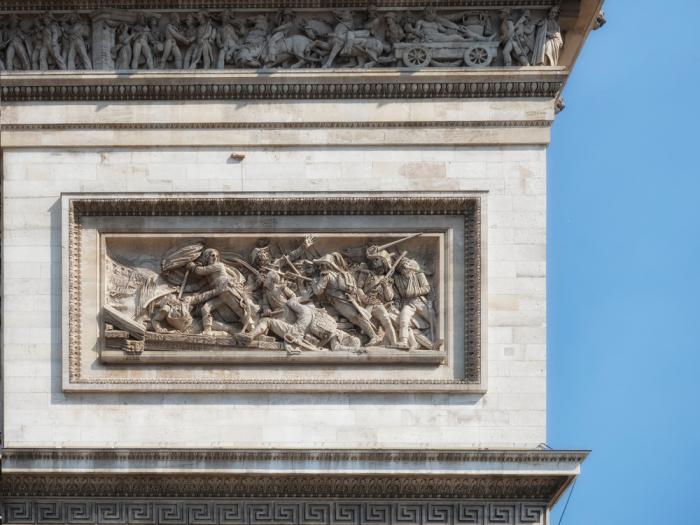 Патриотическое искусство — Триумфальная арка в Париже