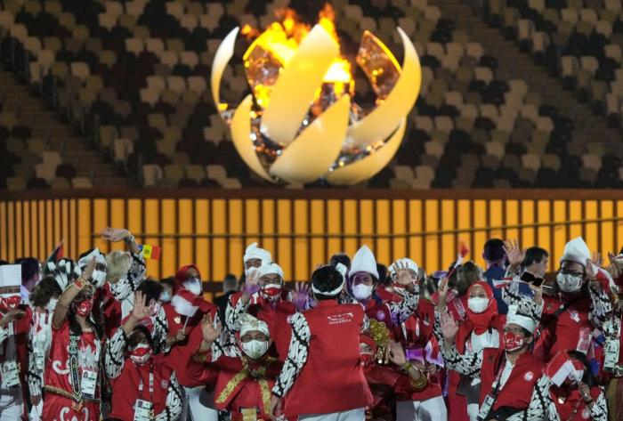 В Токио прошла торжественная церемония открытия Паралимпиады-2020