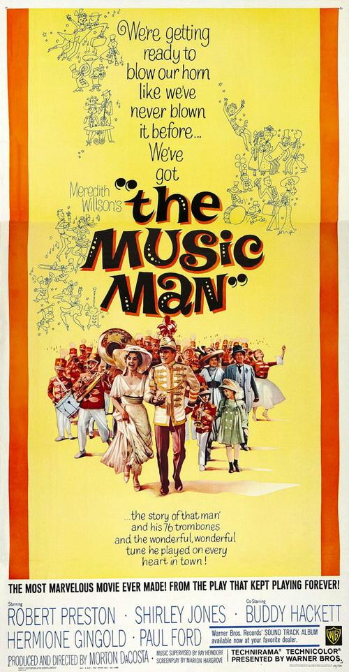 Американские сокровища: Мередит Уиллсон ― «Музыкальный Человек»