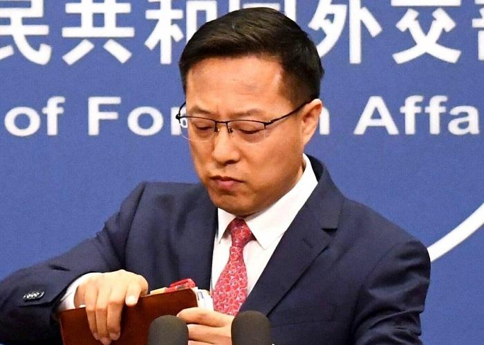 Китайские государственные СМИ обвиняют Соединённые Штаты в возникновении вируса