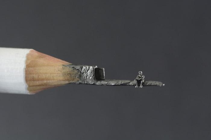 Миниатюры из карандашного грифеля
