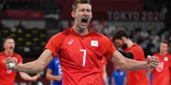 Мужская сборная России по волейболу в полуфинале Олимпиады сыграет с Бразилией