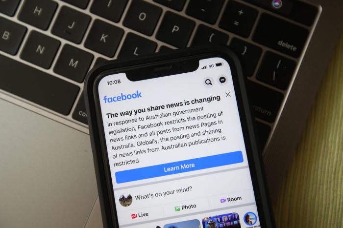 Новости Facebook стартовали вАвстралии