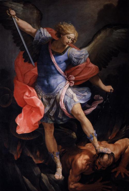 Благость Небес: «Ангел, связывающий сатану»