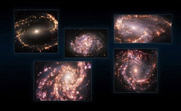 Галактический фейерверк: раскрыты потрясающие особенности ближайших галактик