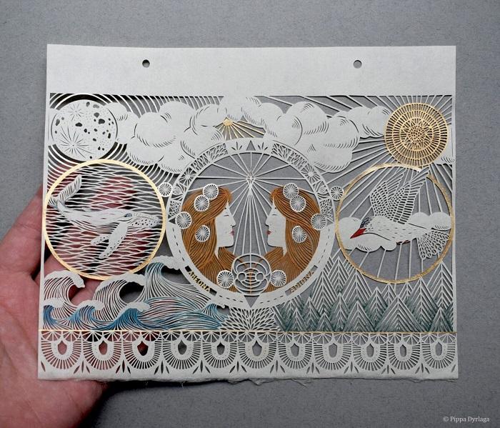 Утончённые шедевры из бумаги