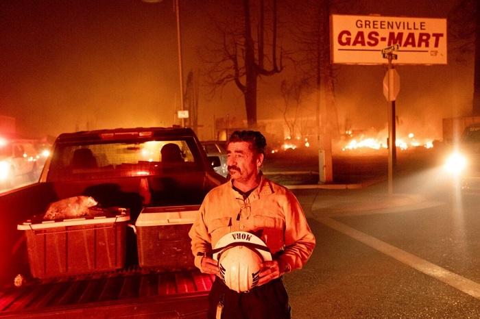 Пожары в Северной Калифорнии: сожжены дотла дома и предприятия