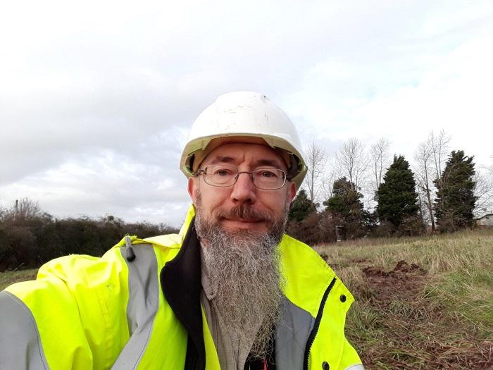 Археолог нашёл незарегистрированный бункер времён Второй мировой войны у подножия скал в Сантон-Сэндс в Великобритании