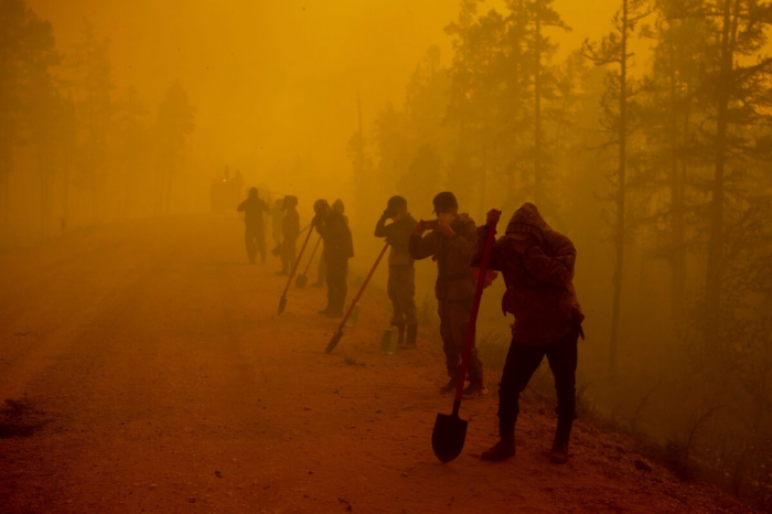 Действие чрезвычайного положения вЯкутии расширено из-за распространения пожаров