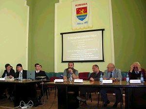 Форум «Красная стена падет», который проходил во Дворце Тимис, зданиz мэрии второго по величине города Румынии - Тимисоара