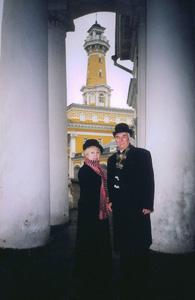 Валентина Алексеевна Благово и Сергей Алексеевич Сапожников В Костроме в 2004 г.