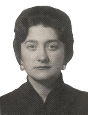 Марина Вадимовна Каверина. Фото из семейного альбома