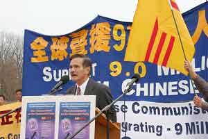 Представитель вьетнамской диаспоры в США г-н Жуан Тань. Фото: The Epoch Times