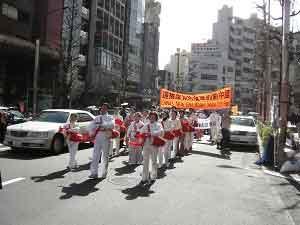 Отряд барабанщиков. Новый Китай будет без КПК.  Фото: The Epoch Times