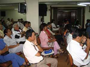 В столице Перу прошел первый семинар «Девять комментариев о коммунистической партии». Фото: The Epoch Times
