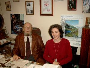 Альфред Мартинович Мирек с супругой Натальей Александровной. Фото: Великая Эпоха