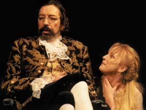 Князь Волконский П.А. на театральной сцене, нач. 21 в. Фото предоставлено автором