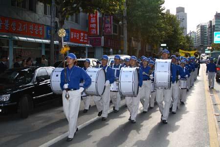 Небесный оркестр Фалунгун. Фото: Великая Эпоха
