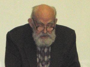 Мазинг Р.И., УВОВ, пенсионер, автор *Обращения*. Фото: Великая Эпоха
