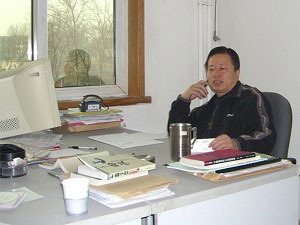 Китайский адвокат по правам человека Гао Чжишен. Фото: Epoch Times