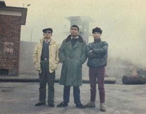 «Три джентльмена Тяньаньмэнь». Фото: Epoch Times