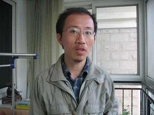 Ху Цзя, 28 марта, вечером после освобождения. Фото: The Epoch Times