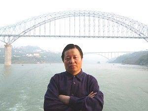 Адвокат Гао на пароме на реке Янцзы. Фото: Ма Вэньду/Великая Эпоха