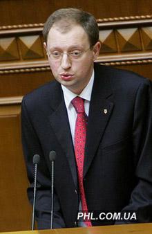 Министр экономики Украины Арсений Яценюк. Фото: http://phl.com.ua